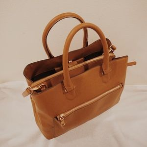 Forever 21 Burnt Orange Leather Bag